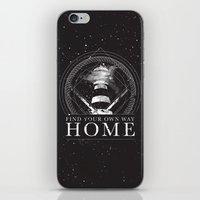 Find Your Own Way Home iPhone & iPod Skin