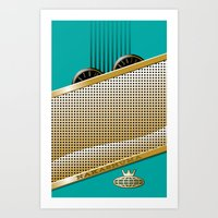 Nakashuma Mark Five  Art Print