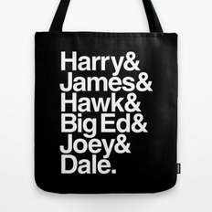 The Bookhouse Boys (Black Lodge) Tote Bag