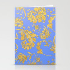 Queenlike on blue Stationery Cards