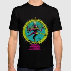 Natraj Dance SMALL Mens Fitted Tee Black