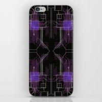 Circuit Board Purple Rep… iPhone & iPod Skin