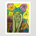 The Sheik of peace, love and freedom for all. Art Print