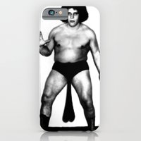 iPhone & iPod Case featuring Andre's Giants by KENYONB