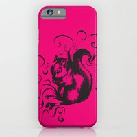 iPhone & iPod Case featuring Squirrel Color by Mary Mohr