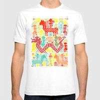 The Story of The King Mens Fitted Tee White SMALL