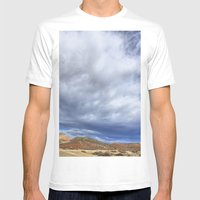 Red Mountain Open Space Mens Fitted Tee White SMALL