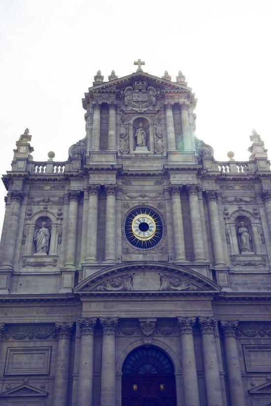 Eglise Saint Paul, Le Marais, Paris Canvas Print