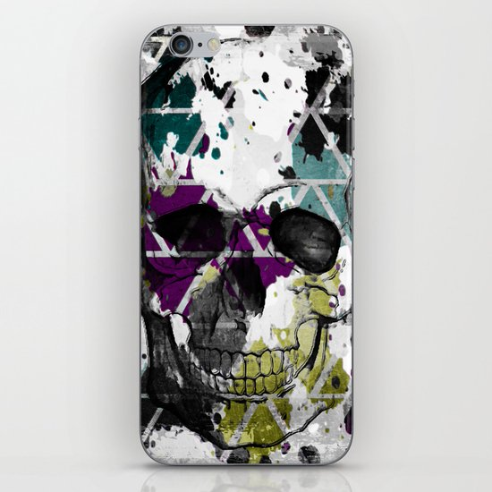 Abstract Skull iPhone & iPod Skin