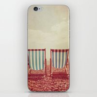 Deck Chairs iPhone & iPod Skin