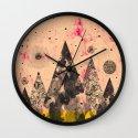 M.F. V. xi Wall Clock