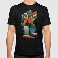 Jump In Mens Fitted Tee Tri-Black SMALL