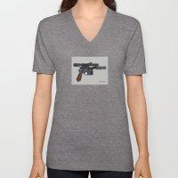 Shoot First. Unisex V-Neck