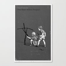 Janet And John Play The Blair Witch Project Canvas Print