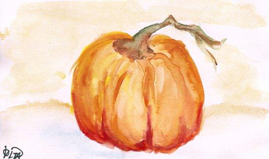 The Pumpkin Season Art Print