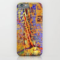 chicago iPhone & iPod Cases featuring chicago by donphil