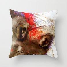 Nuns Throw Pillow