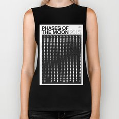 2015 Phases of the Moon Calendar Biker Tank