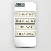 iPhone & iPod Case featuring London by Shabby Studios Design & Illustrations ..