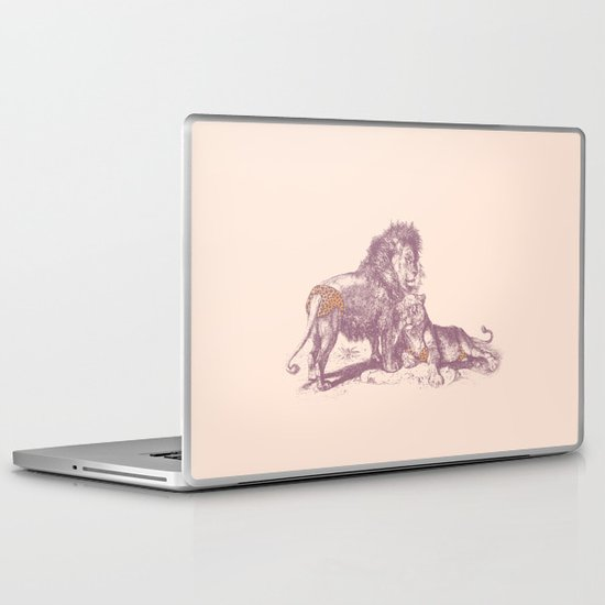 Rrrrauwch! Laptop & iPad Skin