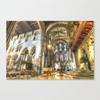 Rochester Cathedral Art Canvas Print