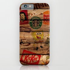 Wooden wall of Brands Slim Case iPhone 6s