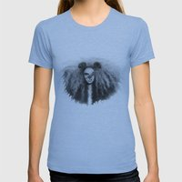 Leo Womens Fitted Tee Athletic Blue SMALL