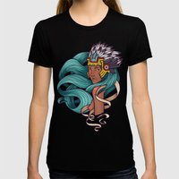 Chalchiuhtlicue Womens Fitted Tee Black SMALL