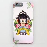 iPhone Cases featuring Tina - Everything's ok face  by Sara Eshak