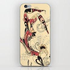 beija-flor iPhone & iPod Skin