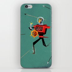 The Time Travelling Pirate iPhone & iPod Skin