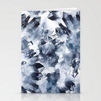 Smokey Crystals Stationery Cards