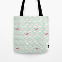 Baby Beluga Tote Bag