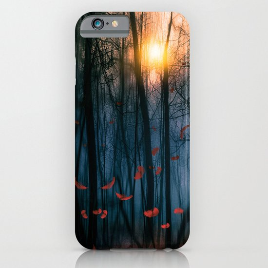 Red feather dance  (colour option) iPhone & iPod Case