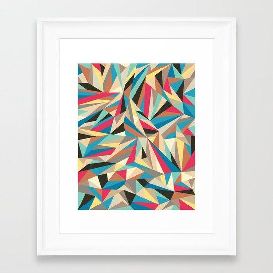 Mind trick Framed Art Print