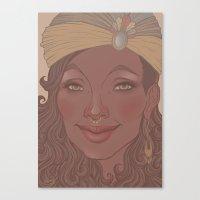 Smile 2 Canvas Print