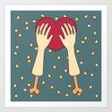 everlasting love Art Print