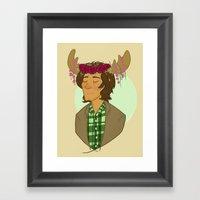 Sam Is A Pretty Pretty M… Framed Art Print
