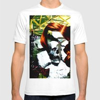 HER RUBY MY EMERALD Mens Fitted Tee White SMALL