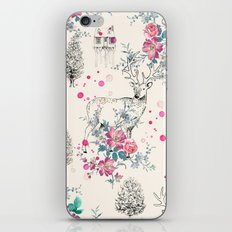 Deer pattern iPhone & iPod Skin