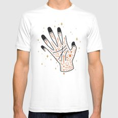 Sleight of Hand SMALL Mens Fitted Tee White