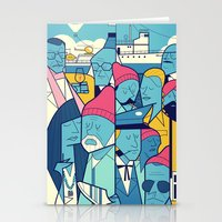 The Life Acquatic With S… Stationery Cards