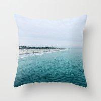 The Endless Sea 2 Throw Pillow