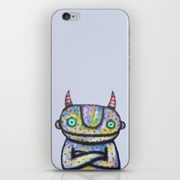 Devil with Good Intentions iPhone & iPod Skin