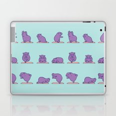 Baby Hippo Yoga Laptop & iPad Skin