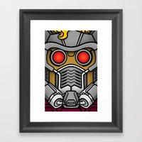 Star Lord Framed Art Print