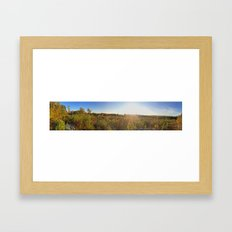 Fall Clearing 2 Framed Art Print