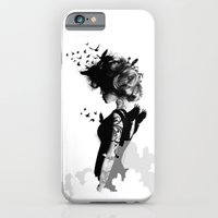 iPhone & iPod Case featuring LADY BIRD by kravic