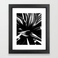 Pushed  Framed Art Print