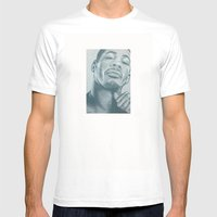 Didier Morville Mens Fitted Tee White SMALL